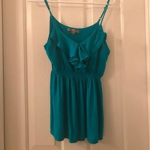 Women's Forever 21 turquoise camisole